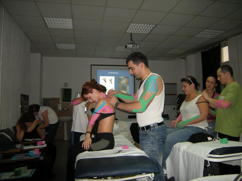 Kurs taping neuromuscolare